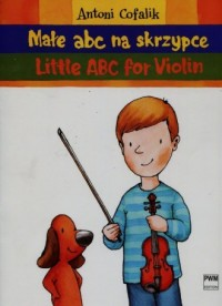 Małe ABC na skrzypce - okładka książki