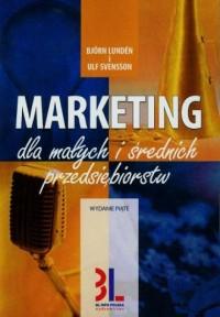 Marketing dla małych i średnich przedsiębiorstw - okładka książki