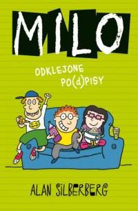 Milo Odklejone po(d)pisy - okładka książki