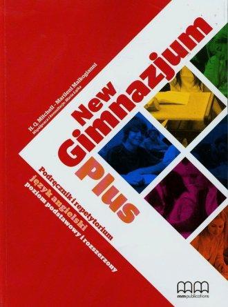 New Gimnazjum. Plus. Język angielski. - okładka podręcznika