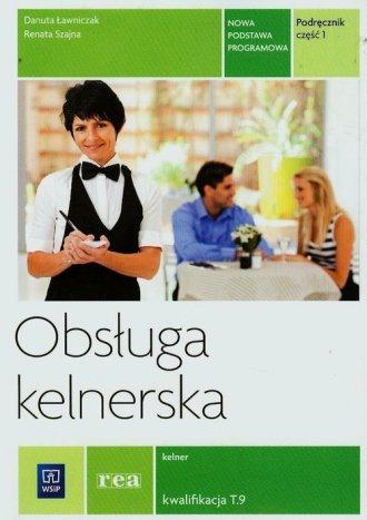 Obsługa kelnerska. Szkoła ponadgimnazjalna. - okładka podręcznika