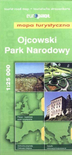 Ojcowski Park Narodowy. Mapa turystyczna - okładka książki