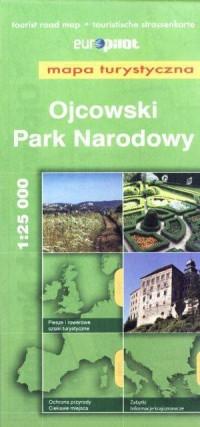Ojcowski Park Narodowy. Mapa turystyczna (skala 1:25 000) - okładka książki