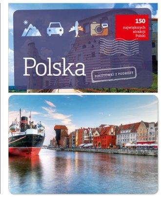 Polska. Pocztówki z podróży - okładka książki