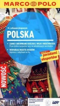 Polska. Przewodnik z atlasem drogowym - okładka książki
