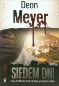 Siedem dni - okładka książki