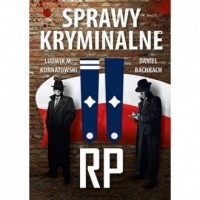 Sprawy kryminalne II RP - okładka książki