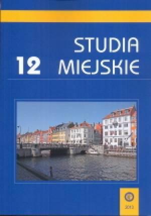 Studia Miejskie. Tom 12 - okładka książki