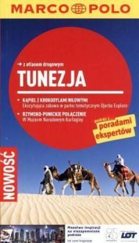 Tunezja. Przewodnik z atlasem drogowym - okładka książki