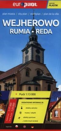 Wejherowo, Rumia, Reda. Plan miasta (skala 1:13 000) - okładka książki