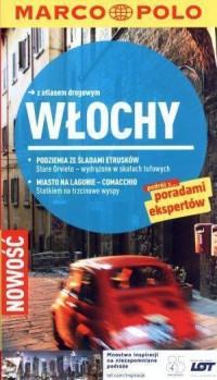 Włochy. Przewodnik z atlasem drogowym - okładka książki