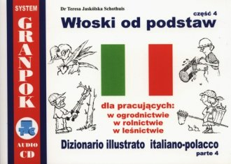 Włoski od podstaw cz. 4 - okładka podręcznika