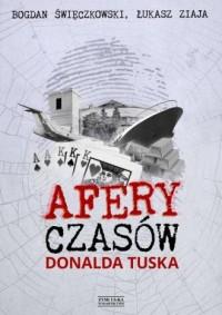 Afery czasów Donalda Tuska - Łukasz - okładka książki
