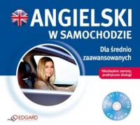 Angielski w samochodzie. Dla średnio zaawansowanych (CD audio) - pudełko audiobooku