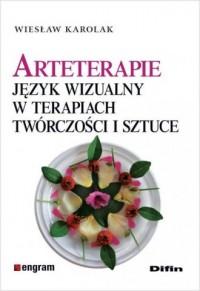 Arteterapie. Język wizualny w terapiach, - okładka książki