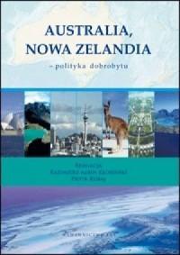 Australia, Nowa Zelandia - polityka - okładka książki