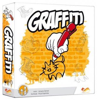 Graffiti. Gra planszowa - zdjęcie zabawki, gry