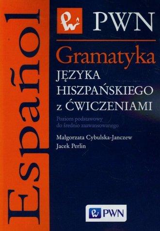 Gramatyka języka hiszpańskiego - okładka podręcznika
