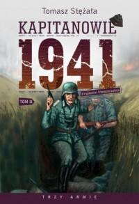 Kapitanowie 1941. Tom 2. Kryptonim Ubezpieczalnia - okładka książki