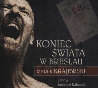 Koniec świata w Breslau (CD mp3) - pudełko audiobooku