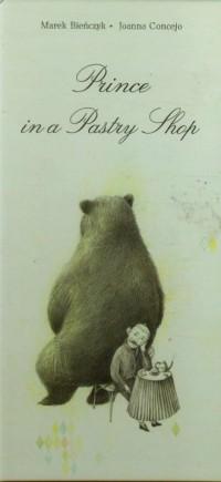 Książę w cukierni (wersja ang.) - okładka książki