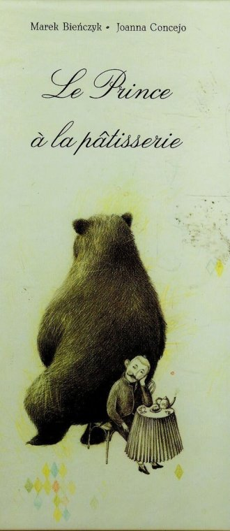 Książę w cukierni (wersja fran.) - okładka książki