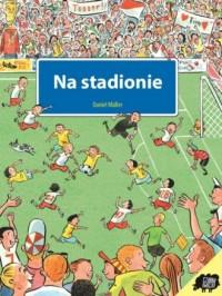 Na stadionie - okładka książki