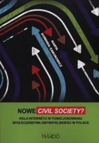 Nowe civil society? Rola Internetu - okładka książki