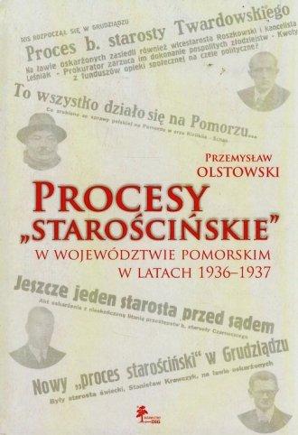 Procesy starościńskie w województwie - okładka książki