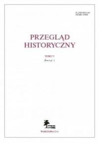 Przegląd Historyczny. Tom CV. Zeszyt 1 / 2014 - okładka książki