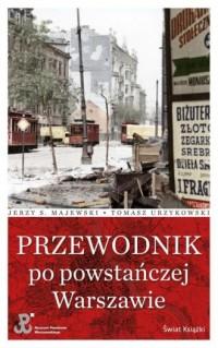 Przewodnik po powstańczej Warszawie - okładka książki