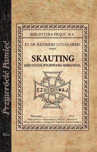 Skauting. jako system wychowania - okładka książki