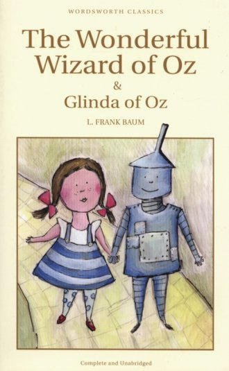 The Wonderful Wizard of Oz & Glimda - okładka książki