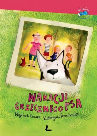 Wakacje grzecznego psa - okładka książki