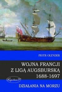 Wojna Francji z Ligą Augsburską - okładka książki