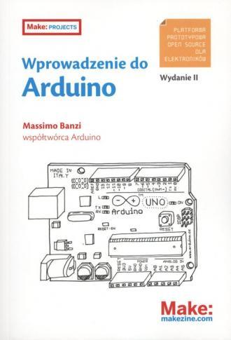 Wprowadzenie do Arduino - okładka książki