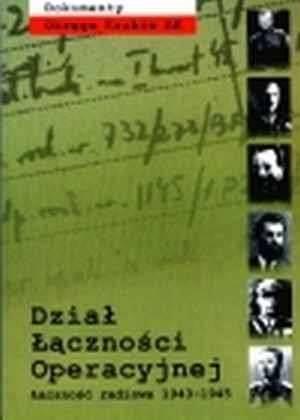 Dokumenty Okręgu Kraków AK. Dział - okładka książki