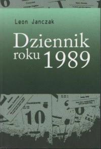 Dziennik roku 1989 - okładka książki
