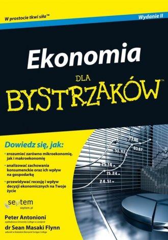 Ekonomia dla bystrzaków - okładka książki