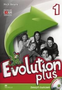 Evolution Plus 1. Język angielski. - okładka podręcznika