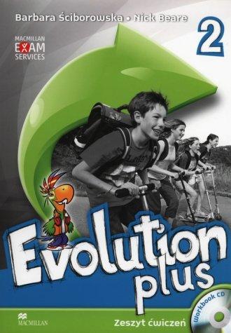 Evolution Plus 2. Język angielski. - okładka podręcznika