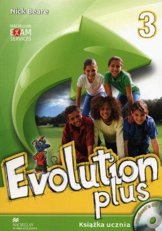 Evolution Plus 3. Język angielski. - okładka podręcznika