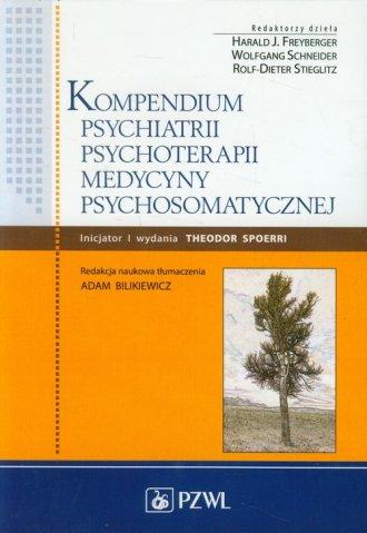 Kompendium psychiatrii, psychoterapii, - okładka książki