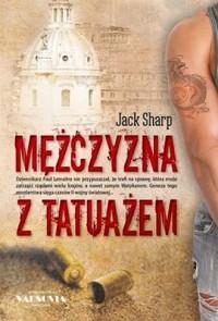 Mężczyzna z tatuażem - okładka książki