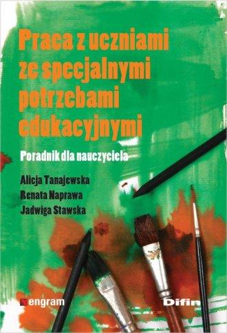 Praca z uczniami ze specjalnymi - okładka książki