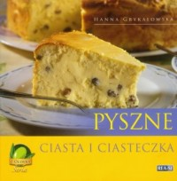 Pyszne ciasta i ciasteczka - okładka książki