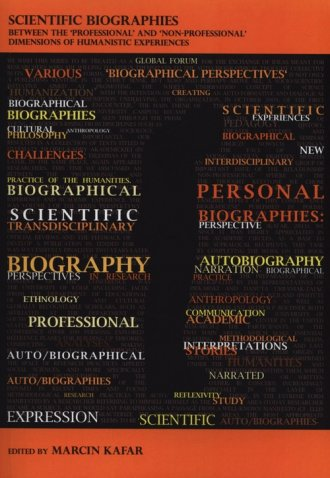 Scientific Biographies beetween - okładka książki