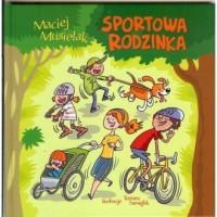 Sportowa rodzinka - okładka książki