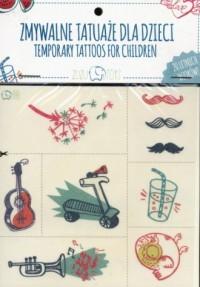 Zmywalne tatuaże dla dzieci. Letnie wzory - zdjęcie zabawki, gry