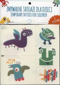Zmywalne tatuaże dla dzieci. Potwory - zdjęcie zabawki, gry